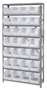 Clear View Hang and Stack Bin