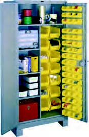 Combination Bin Cabinet